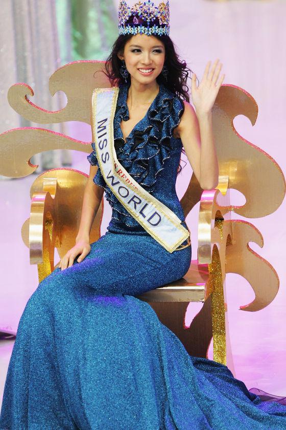 La miss monde 2008, Zi Lin Zhang, sera la prochaine égérie L\'Oréal