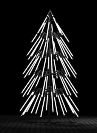 Sapin de Noël de Gareth Pugh pour TopShop Londres