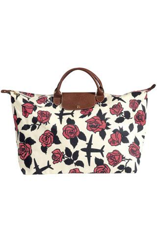 Nouveau sac Floral Fights de Jeremy Scott pour Longchamp
