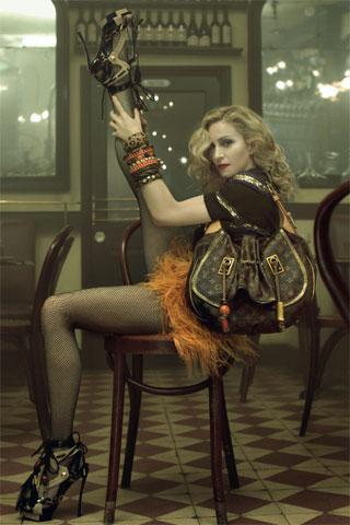Prochaine campagne Louis Vuitton avec Madonna