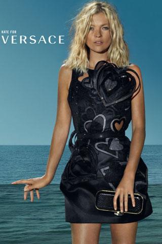 Kate Moss, co-égérie de la prochaine campagne Versace printemps-été 2009