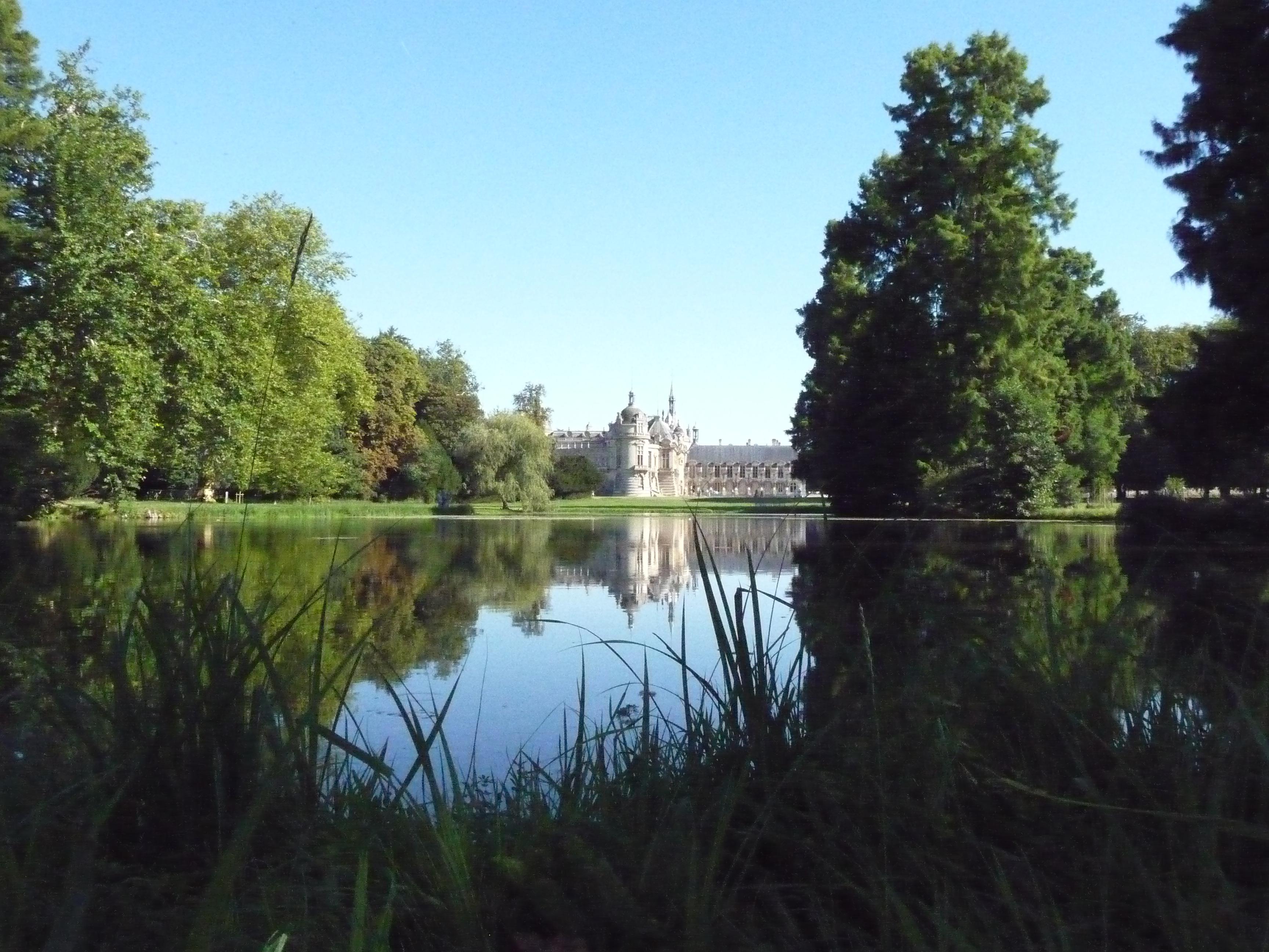 Le château de Chantilly : décor de rêve