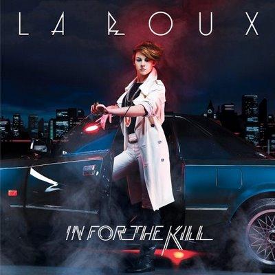 """Pochette du single """"In for the kill"""" de La Roux"""